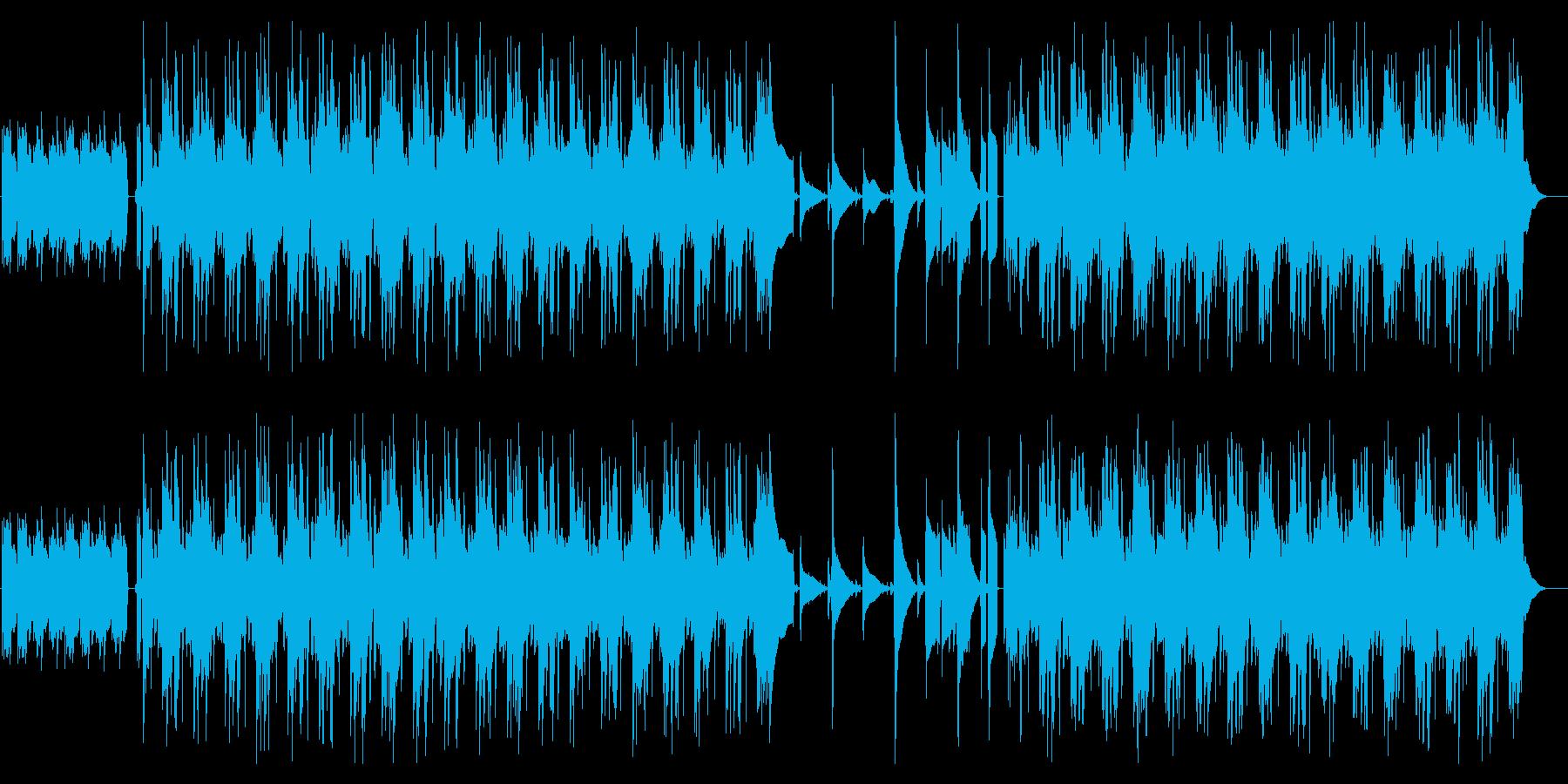 [ポストロック]まったり のどか ギターの再生済みの波形