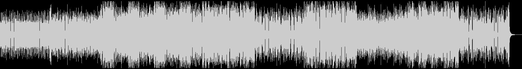 アグレッシブな低音が響くダークテクノの未再生の波形