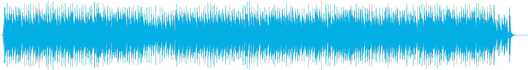 陽気なクラシックアレンジの再生済みの波形
