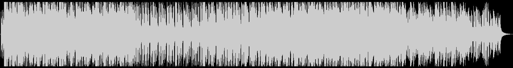 ゲームのリザルト画面など用の曲の未再生の波形