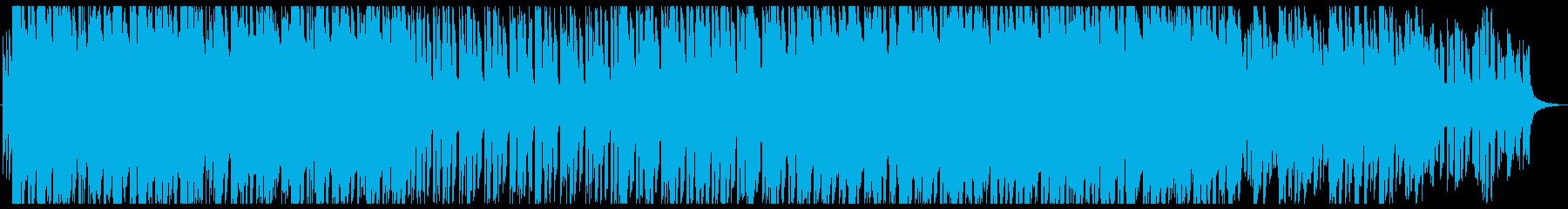 ゲームのリザルト画面など用の曲の再生済みの波形