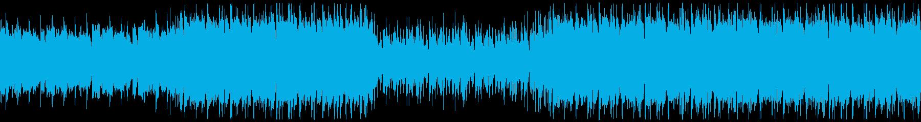 穏やかな夏の海・ポップ・ループの再生済みの波形