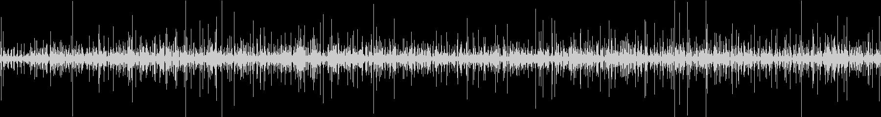 チョロチョロの未再生の波形