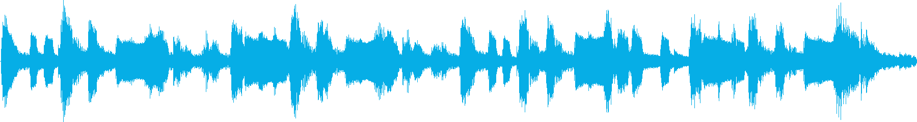 子供向けのワクワクするジングル(ループ)の再生済みの波形