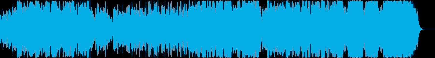 エレキ・オーケストラ融合 戦闘曲の再生済みの波形