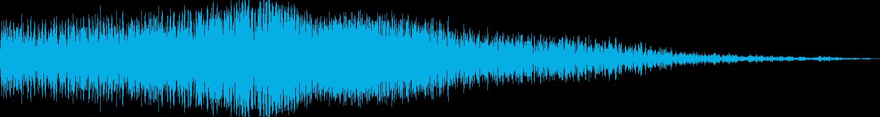 日本のゼロフライバイの再生済みの波形