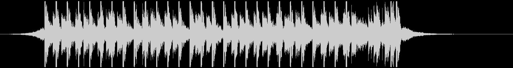 ポップパーティー(20秒)の未再生の波形
