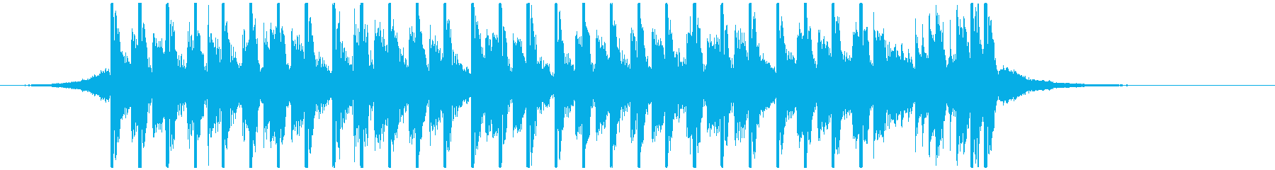 ポップパーティー(20秒)の再生済みの波形