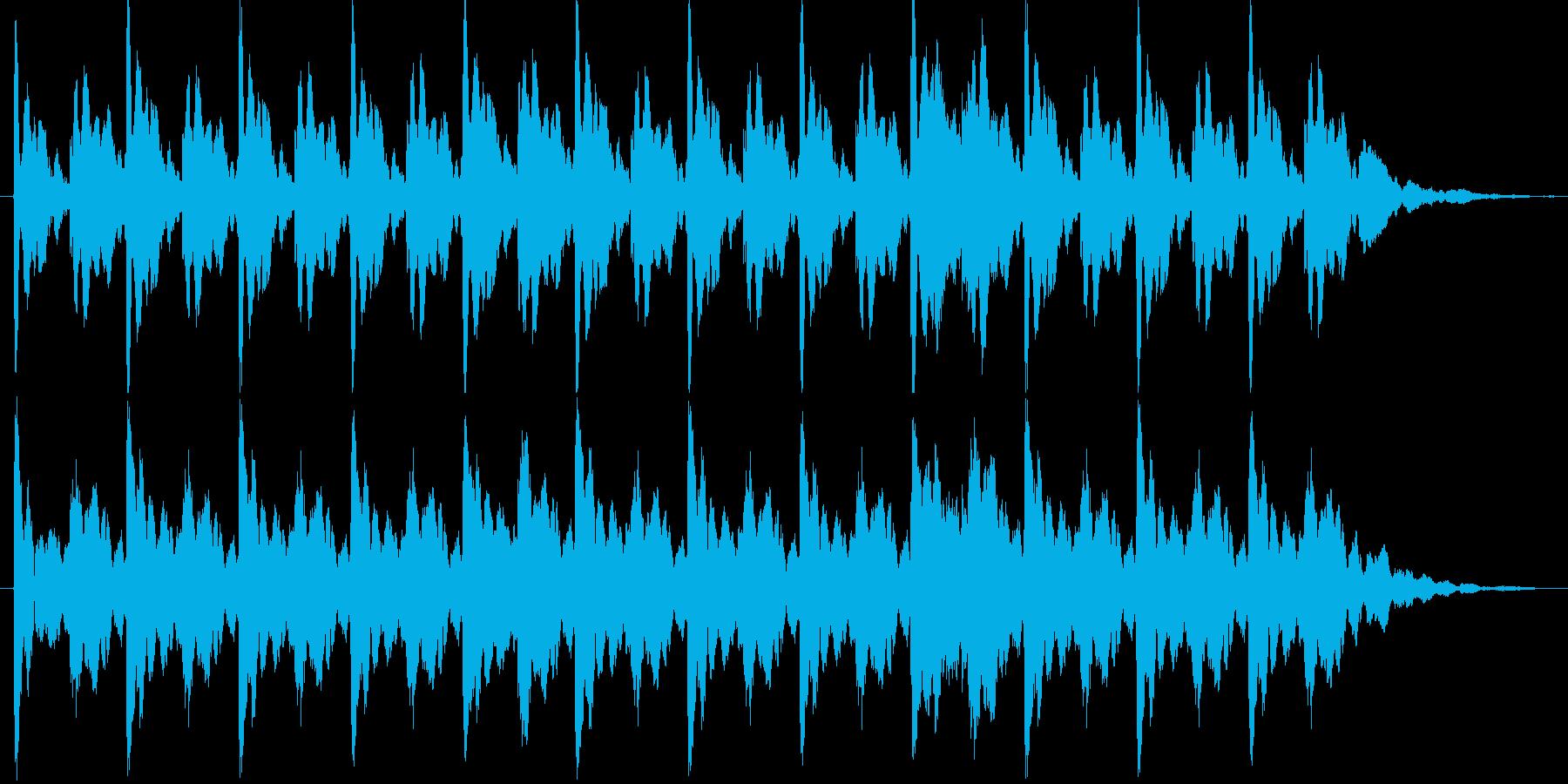 不思議なイメージですの再生済みの波形