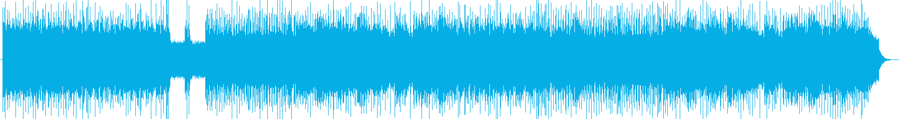 「HR/HM」「POWER」BGM229の再生済みの波形