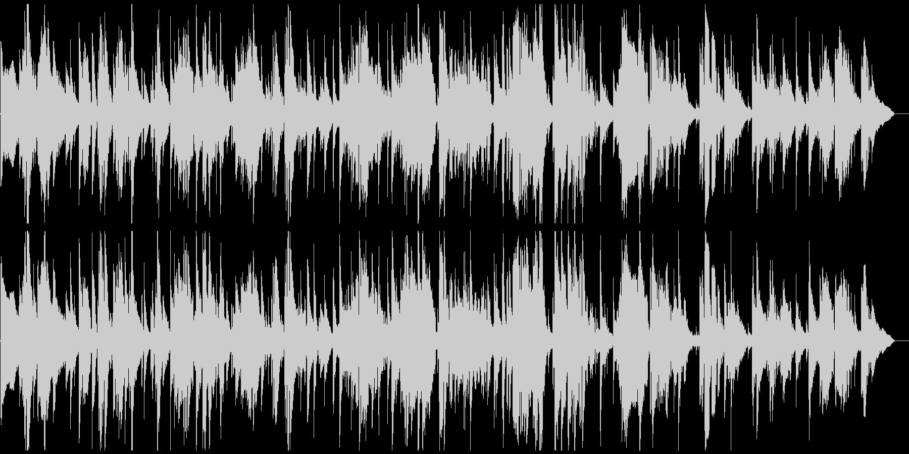 切ないテナーサックス生演奏ジャズバラードの未再生の波形