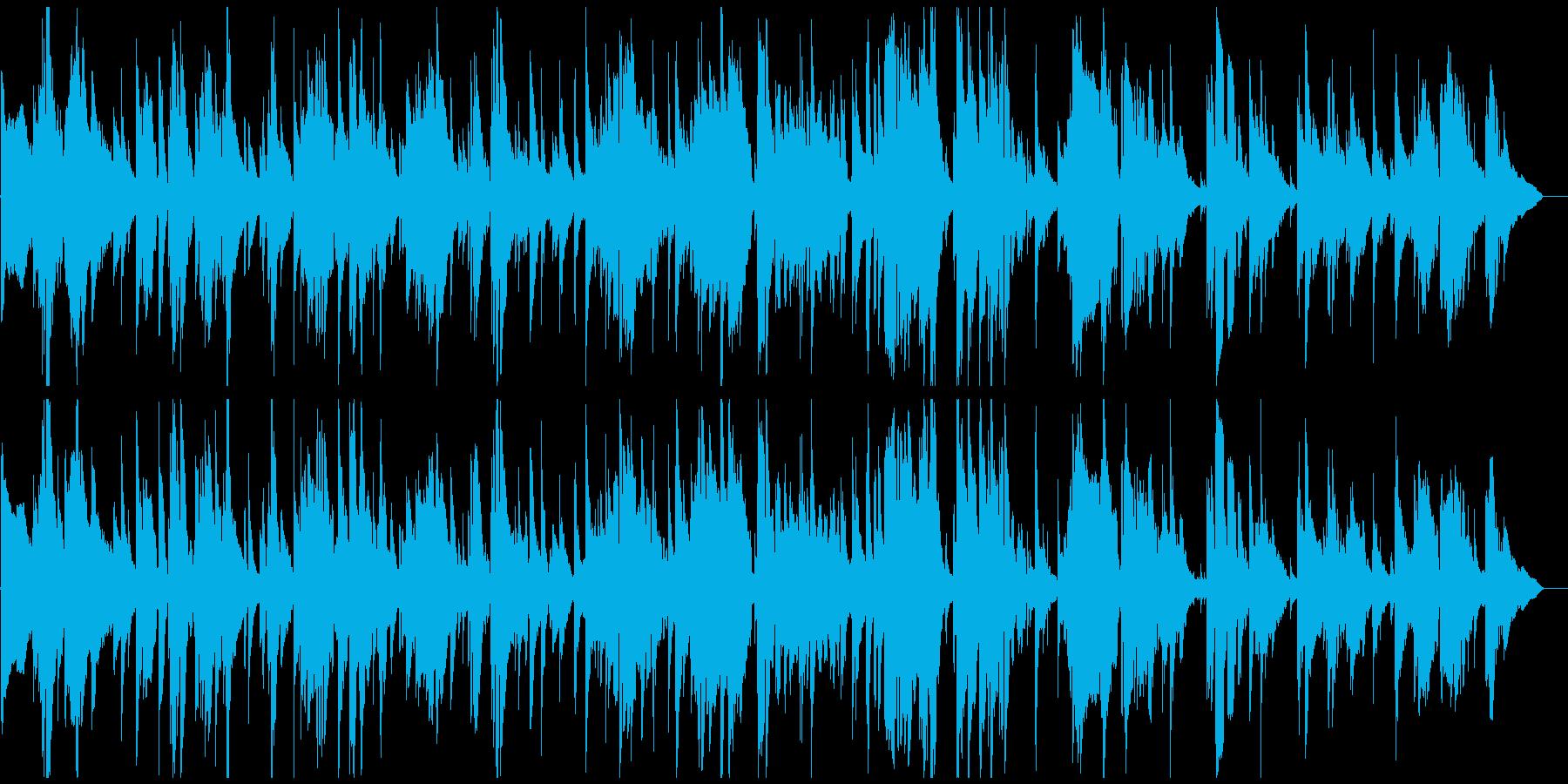 切ないテナーサックス生演奏ジャズバラードの再生済みの波形