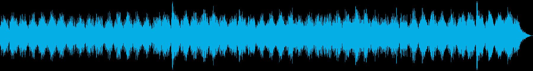 瞑想やヨガ、睡眠誘導のための音楽 02の再生済みの波形