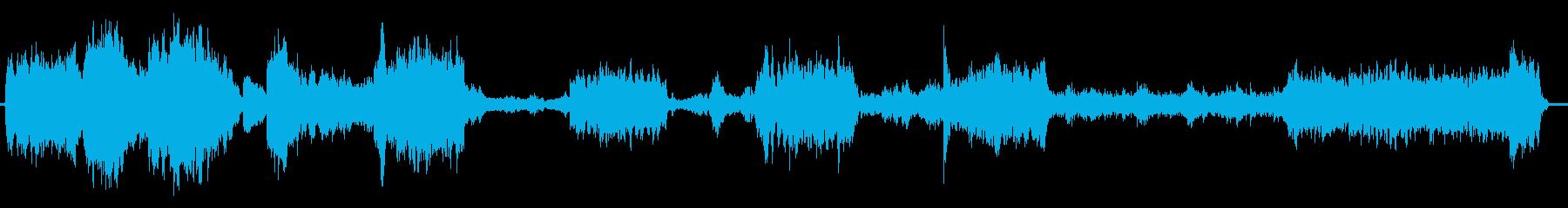 ファンタジーRPGのオープニング画面を…の再生済みの波形