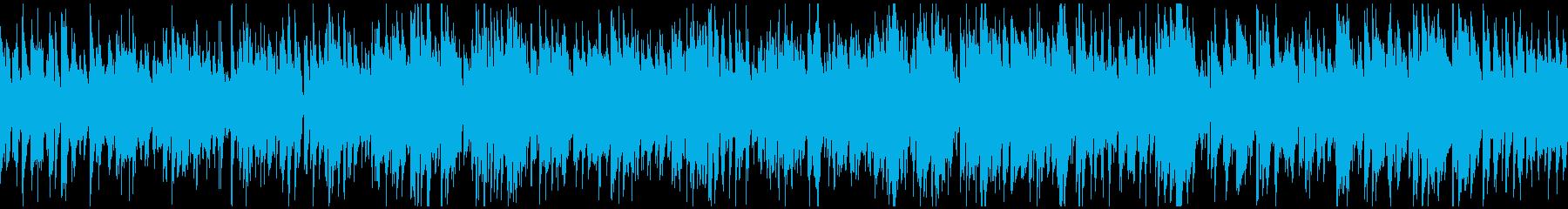 日常系ジャズ、大人の散歩 ※ループ仕様版の再生済みの波形