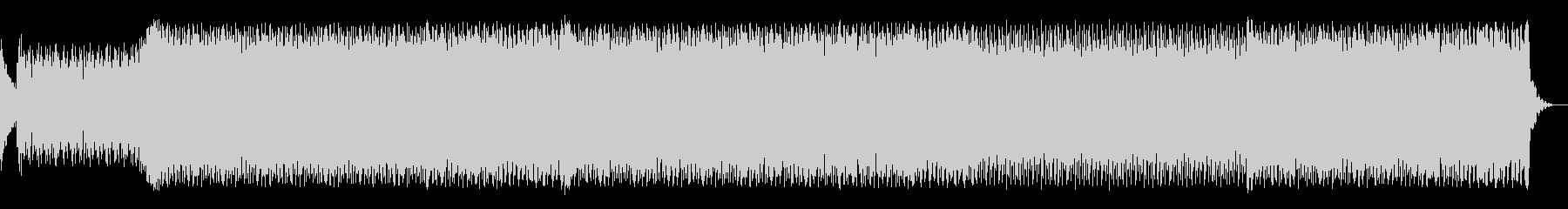 ダークな雰囲気のエレクトロダンスの未再生の波形