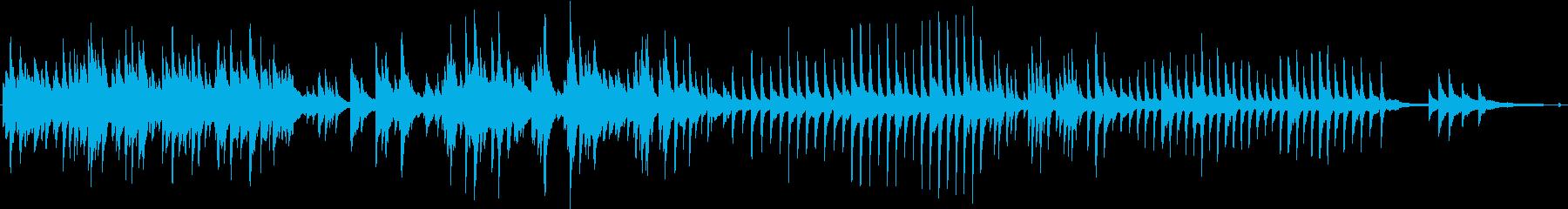四季 水 稲穂 心の情景 ■ ピアノソロの再生済みの波形