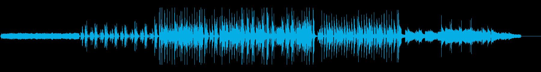 70's映画風にエレピとオルガンで追跡の再生済みの波形