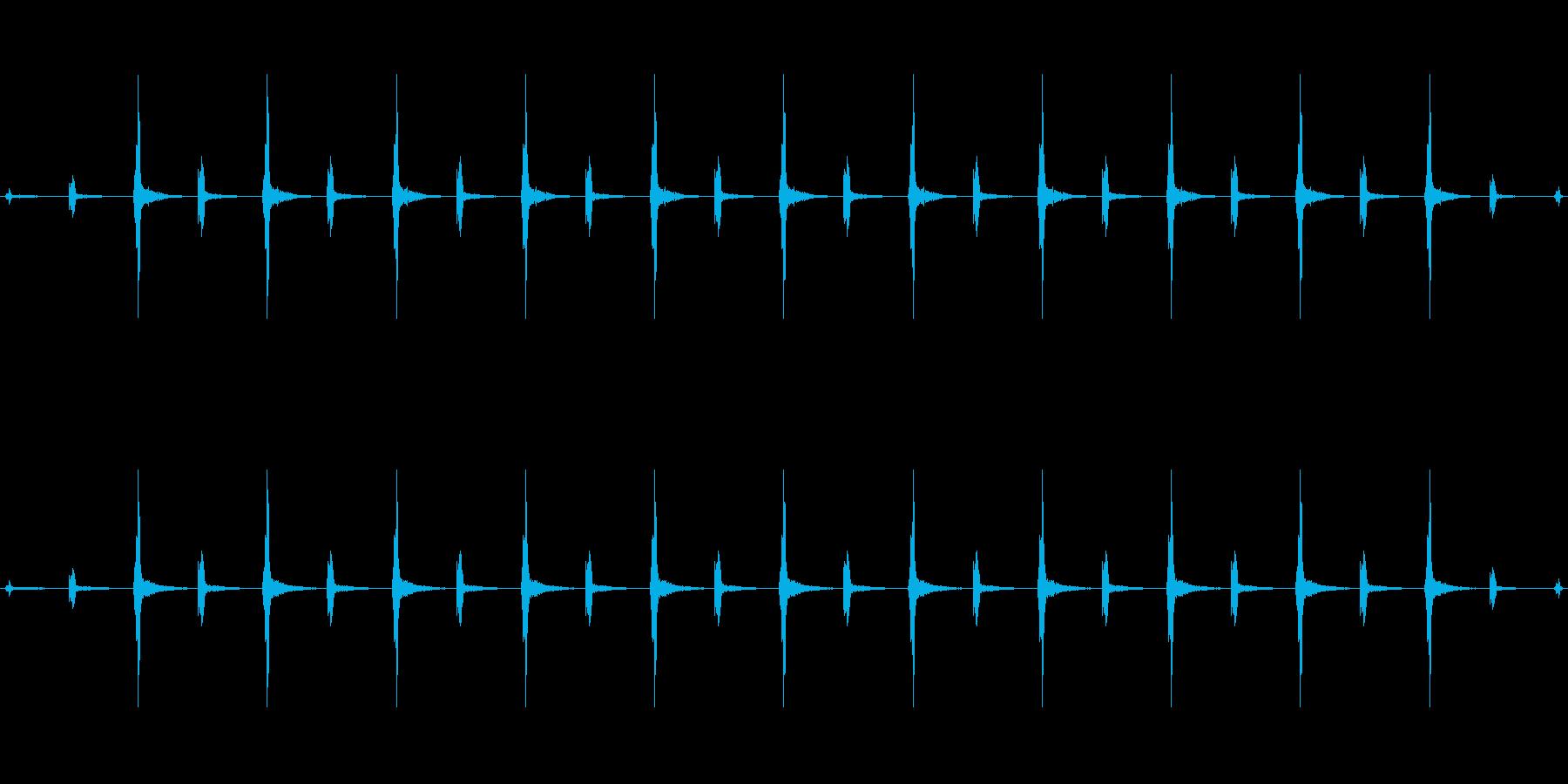 時計 ticktock_46-2_revの再生済みの波形