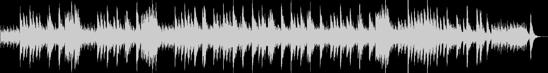 サンサーンス「白鳥」オルゴール風の未再生の波形