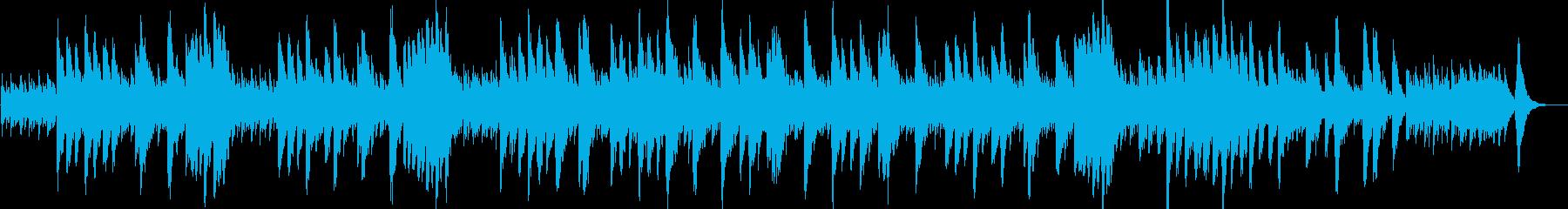 サンサーンス「白鳥」オルゴール風の再生済みの波形