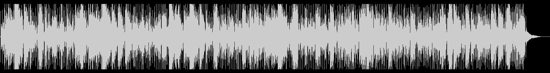 疾走するブルースカントリーハーモニカの未再生の波形