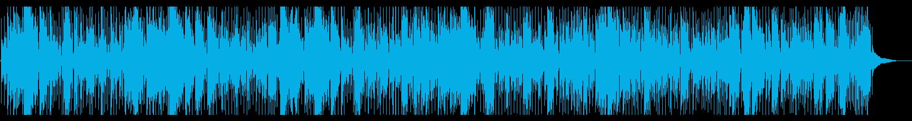 疾走するブルースカントリーハーモニカの再生済みの波形