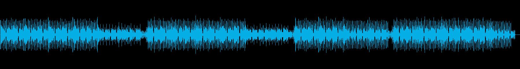 トロピカルで優しい夏のチルファンクの再生済みの波形
