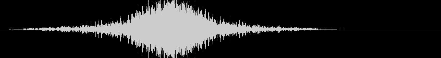 ドラマティックなリバース音39-02の未再生の波形