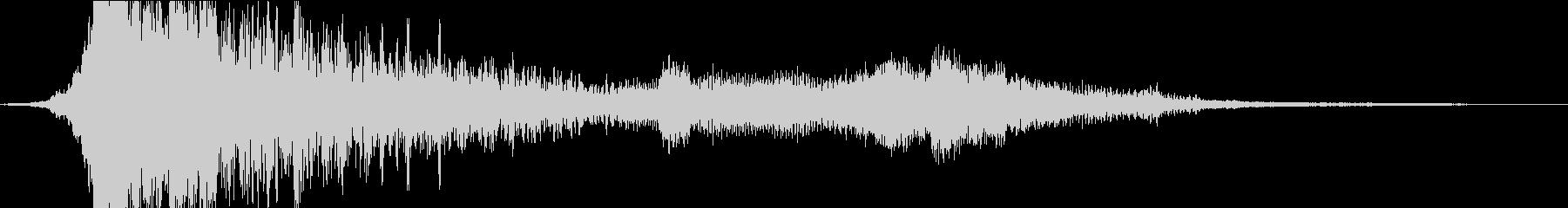 シネマティック_オープニング会社ロゴ予告の未再生の波形