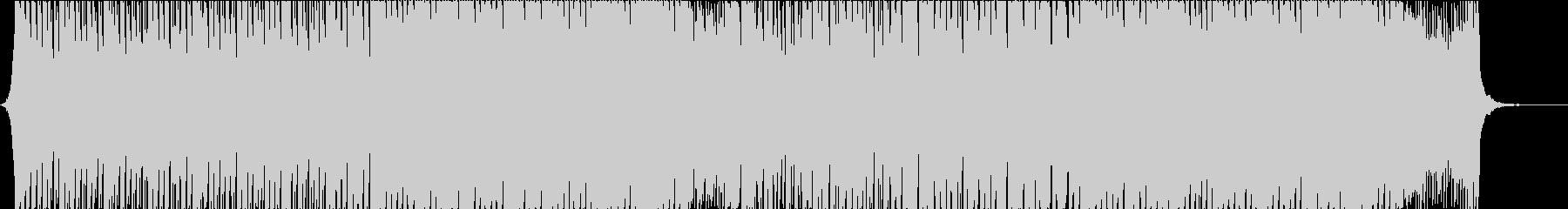 明るいハッピーな曲の未再生の波形