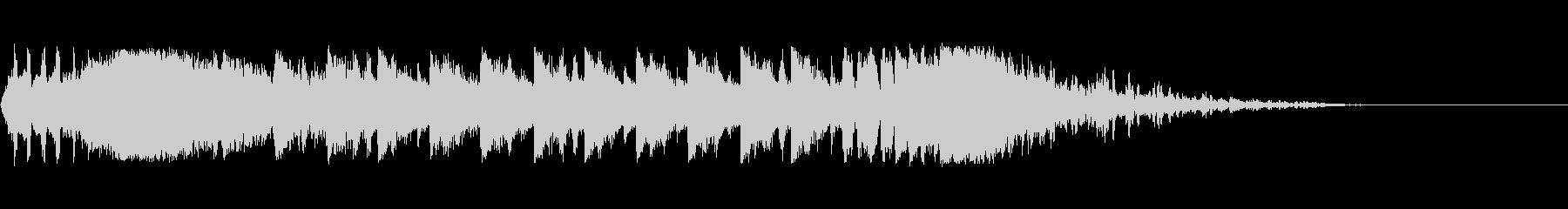ウェイクアップブラームスIDベッド2の未再生の波形