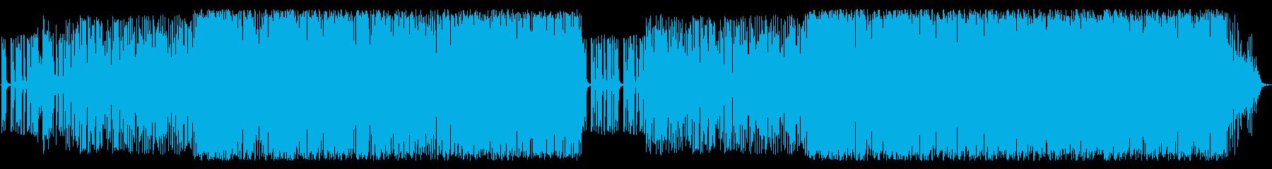 アコギが印象的な爽やかでお洒落なBGMの再生済みの波形
