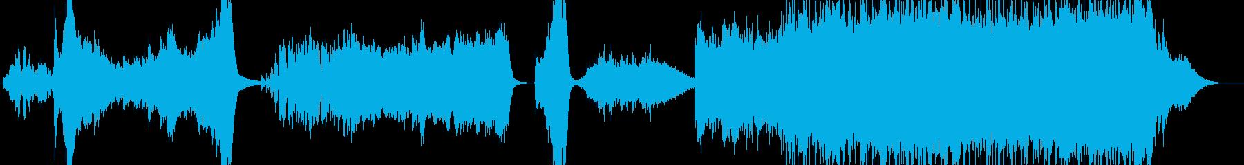 ワクワクとドキドキが交差するオーケストラの再生済みの波形