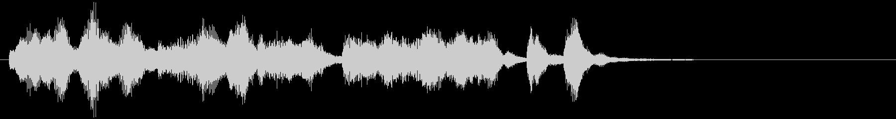 のほほんジングル021_優しい+3の未再生の波形