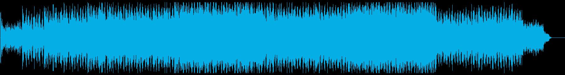 明るく朗らかなテクノビートポップサウンドの再生済みの波形