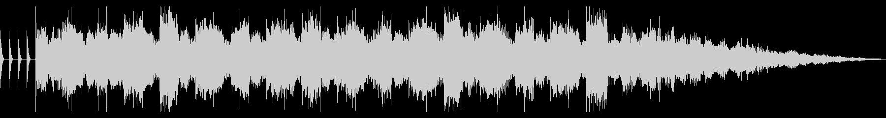 リザルトBGM サウンドロゴ エレクトロの未再生の波形