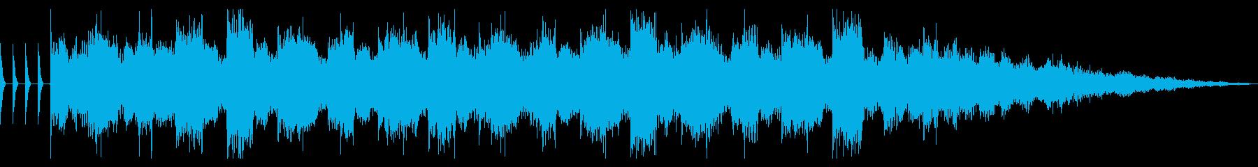 リザルトBGM サウンドロゴ エレクトロの再生済みの波形