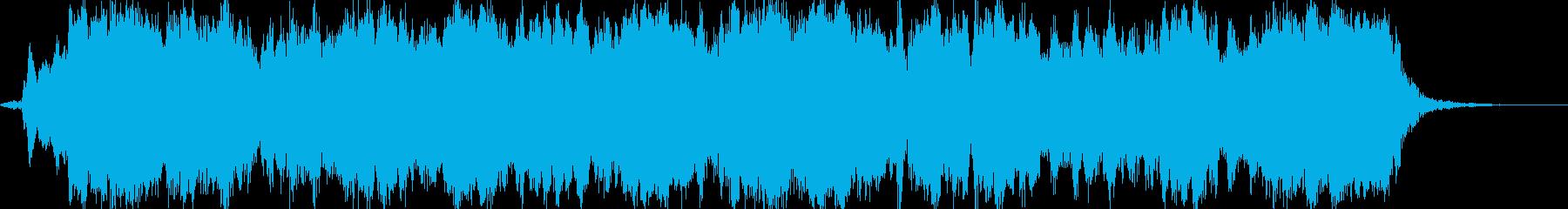 壮大で緊張感のあるオーケストラサウンドの再生済みの波形
