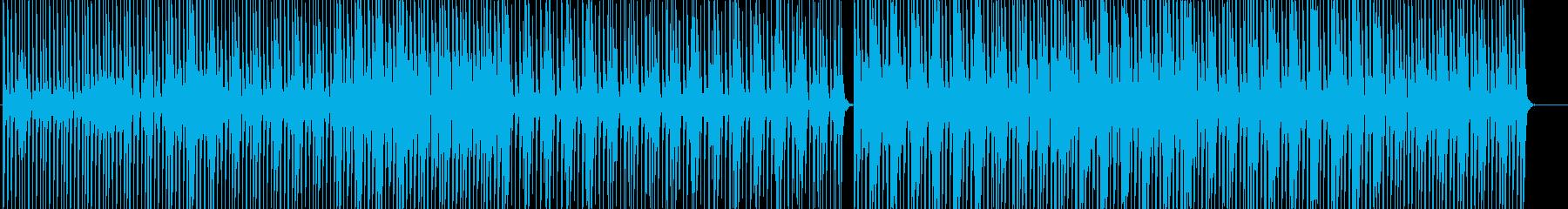 WAVE 16bit 44.1khzの再生済みの波形