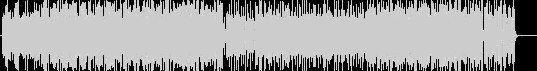 「HR/HM」「ROCK」BGM160の未再生の波形