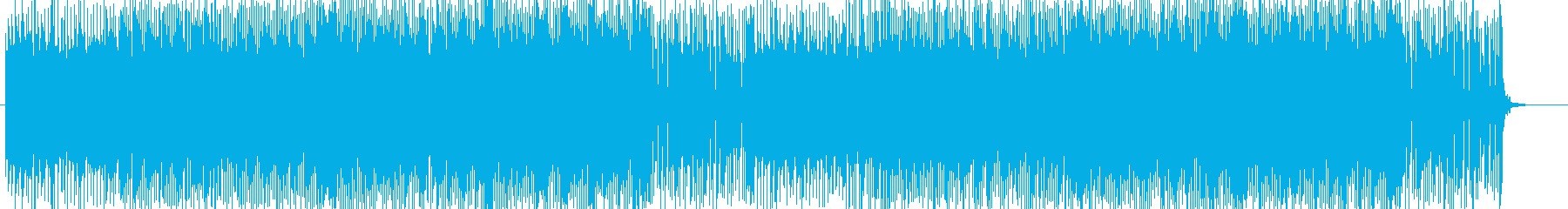 「HR/HM」「ROCK」BGM160の再生済みの波形
