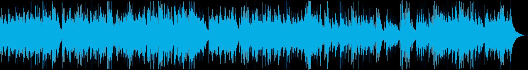 緑紀行の再生済みの波形