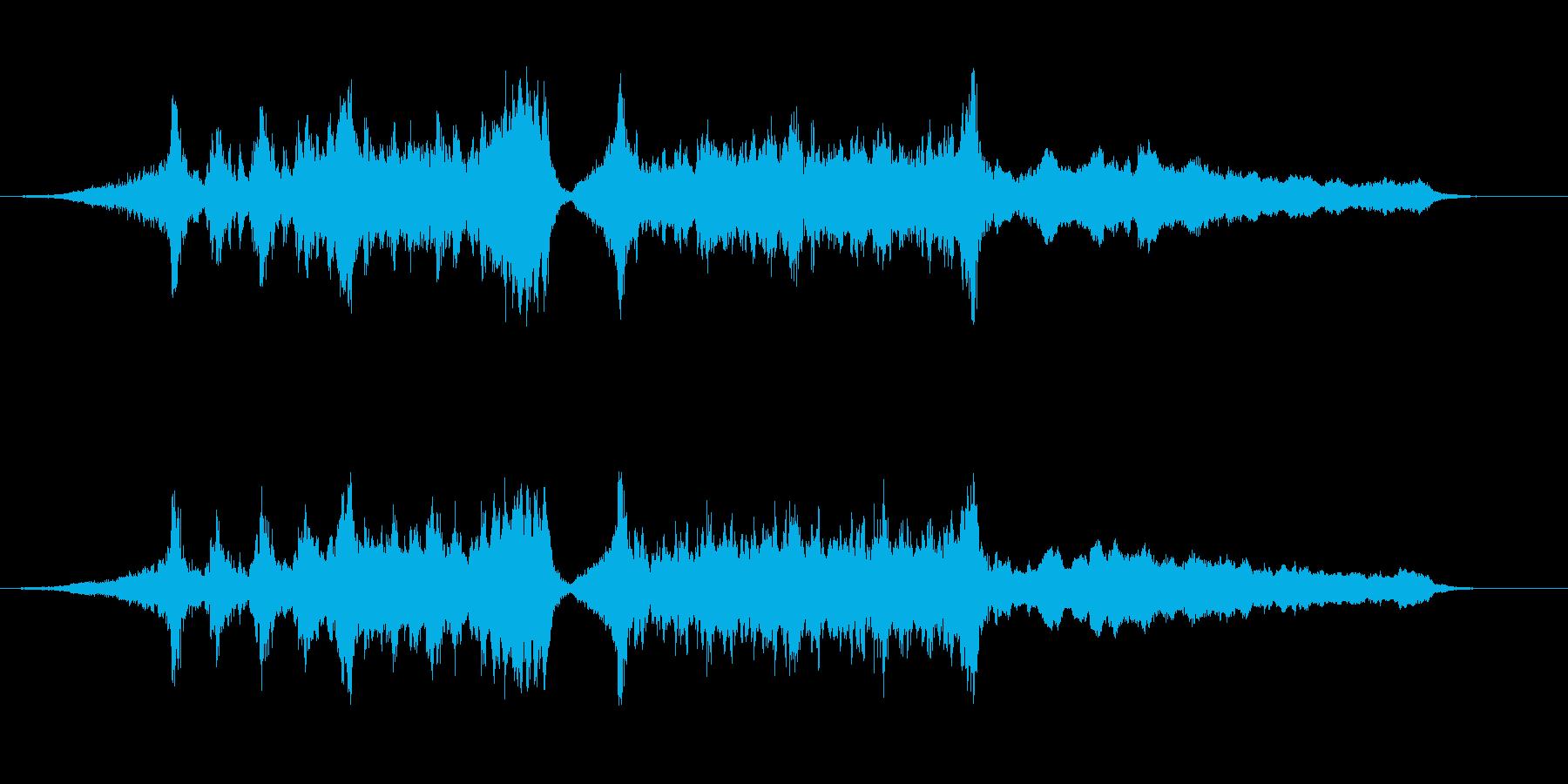 トレーラー(予告編):アクション映画 の再生済みの波形