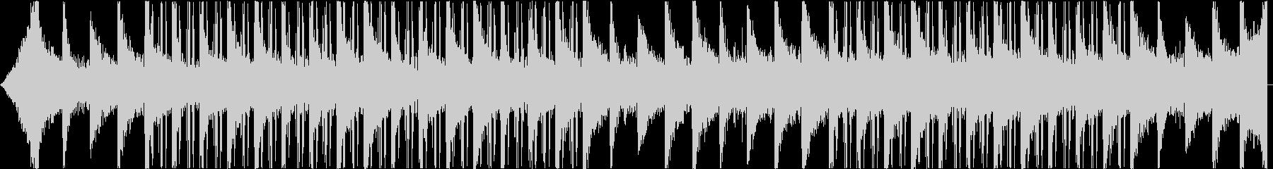 音数の少ないダウナーなインストの未再生の波形