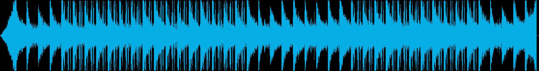 音数の少ないダウナーなインストの再生済みの波形