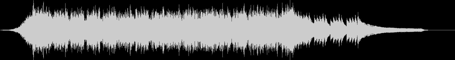 企業VP映像、111オーケストラ、爽快cの未再生の波形