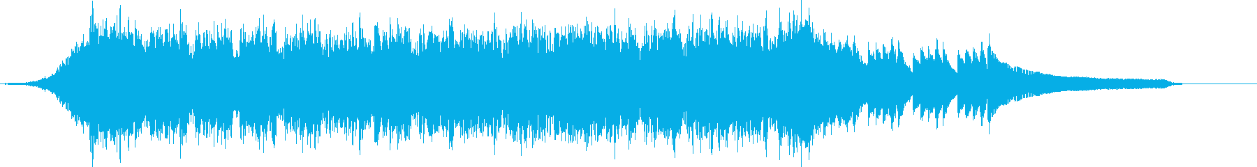 企業VP映像、111オーケストラ、爽快cの再生済みの波形