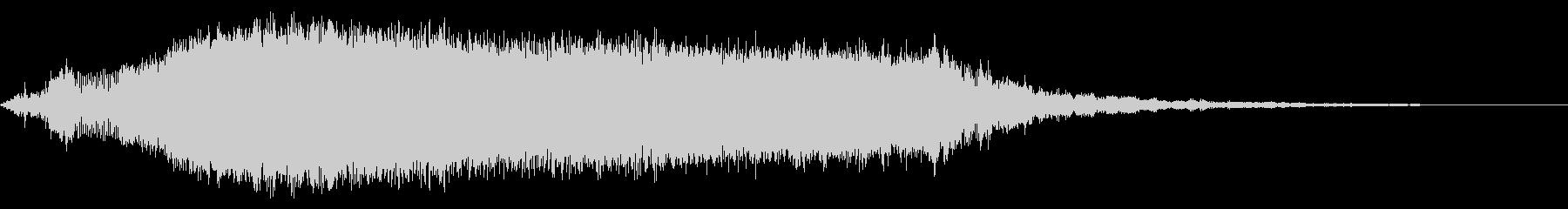 KANT怪獣の鳴き声Middle5の未再生の波形