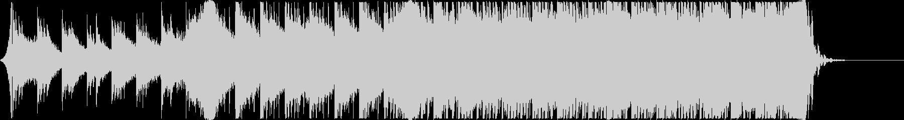 ゲーム・アニメCM用「始まり」系BGMの未再生の波形